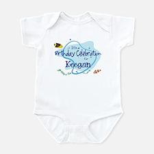 Celebration for Keegan (fish) Infant Bodysuit