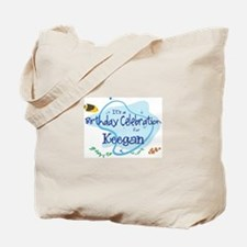 Celebration for Keegan (fish) Tote Bag