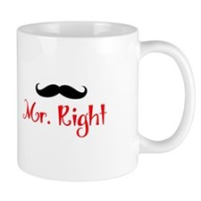 MR RIGHT Mugs