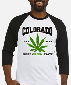 Colorado Cannabis 2012 Baseball Jersey
