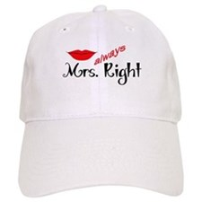 MRS ALWAYS RIGHT Baseball Baseball Cap