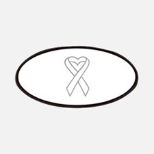 LUNG CANCER RIBBON Patches