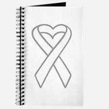 LUNG CANCER RIBBON Journal