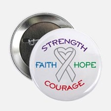 """HOPE FAITH COURAGE STRENGTH 2.25"""" Button (10 pack)"""