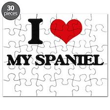 I love My Spaniel Puzzle