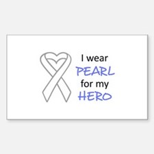 PEARL FOR MY HERO Decal