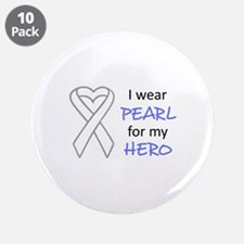 """PEARL FOR MY HERO 3.5"""" Button (10 pack)"""