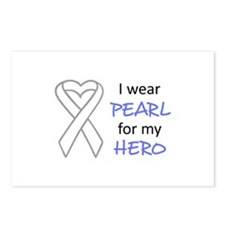 PEARL FOR MY HERO Postcards (Package of 8)