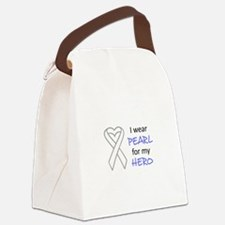 PEARL FOR MY HERO Canvas Lunch Bag