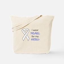 PEARL FOR MY HERO Tote Bag