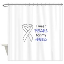 PEARL FOR MY HERO Shower Curtain