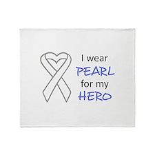 PEARL FOR MY HERO Throw Blanket
