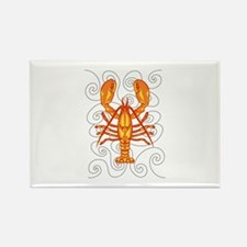LOBSTER AND WAVES Magnets