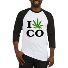 I Cannabis Colorado Baseball Jersey