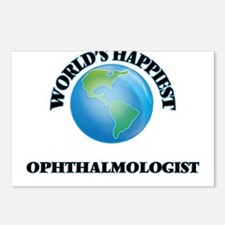 World's Happiest Ophthalm Postcards (Package of 8)