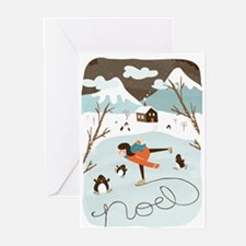 Frozen Lake Greeting Cards (10 Pack)
