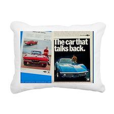 Unique Corvetter Rectangular Canvas Pillow