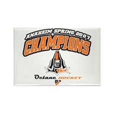 07 Champs Octane Rectangle Magnet