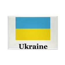 Ukraine Heritage Rectangle Magnet