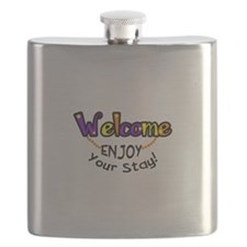 ENJOY YOUR STAY Flask