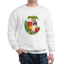 Great Dane Stockings Brindle Sweatshirt