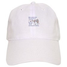 DOGS ARE ON THE LEVEL Baseball Baseball Cap