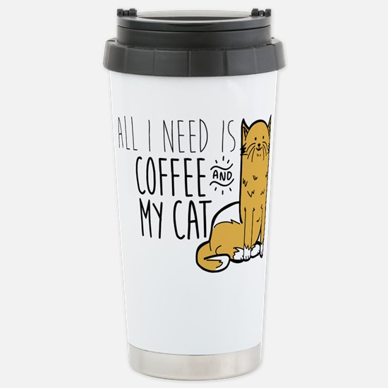 All I Need Is Cof Travel Mug