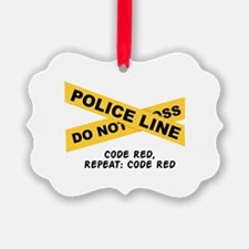 Code Red Ornament