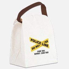Code Red Canvas Lunch Bag