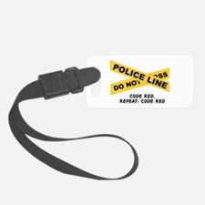 Code Red Luggage Tag