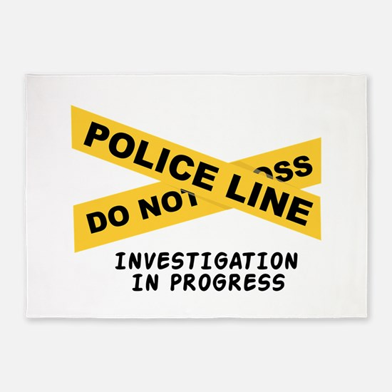 Investigation 5'x7'Area Rug