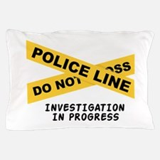 Investigation Pillow Case