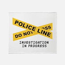 Investigation Throw Blanket