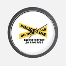 Investigation Wall Clock