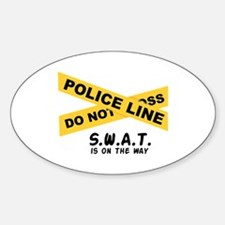 SWAT On The Way Decal