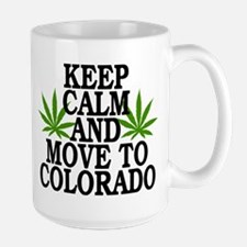 Keep Calm And Move To Colorado Mugs
