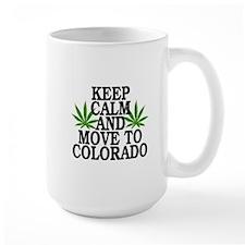 Keep Calm And Move To Colorado Mugs
