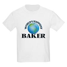 World's Happiest Baker T-Shirt