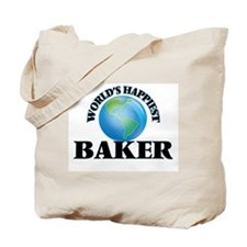 World's Happiest Baker Tote Bag