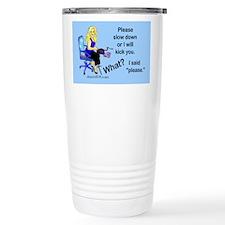 Unique Court reporter Travel Mug