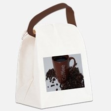 coffee Canvas Lunch Bag