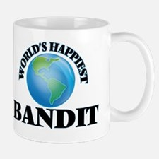 World's Happiest Bandit Mug
