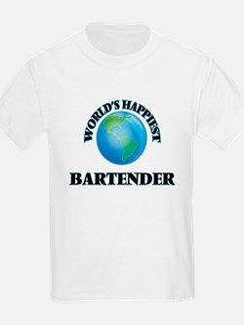 World's Happiest Bartender T-Shirt