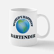 World's Happiest Bartender Mugs