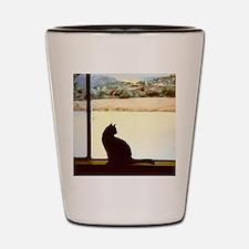 Tosca's Winter Window Shot Glass