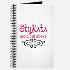 STYLISTS ARE A CUT ABOVE Journal