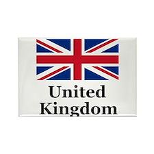 United Kingdom Rectangle Magnet