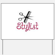 HAIR STYLIST Yard Sign
