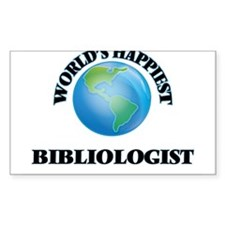 World's Happiest Bibliologist Decal
