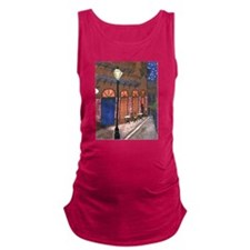 Night Cafe New Orleans Maternity Tank Top